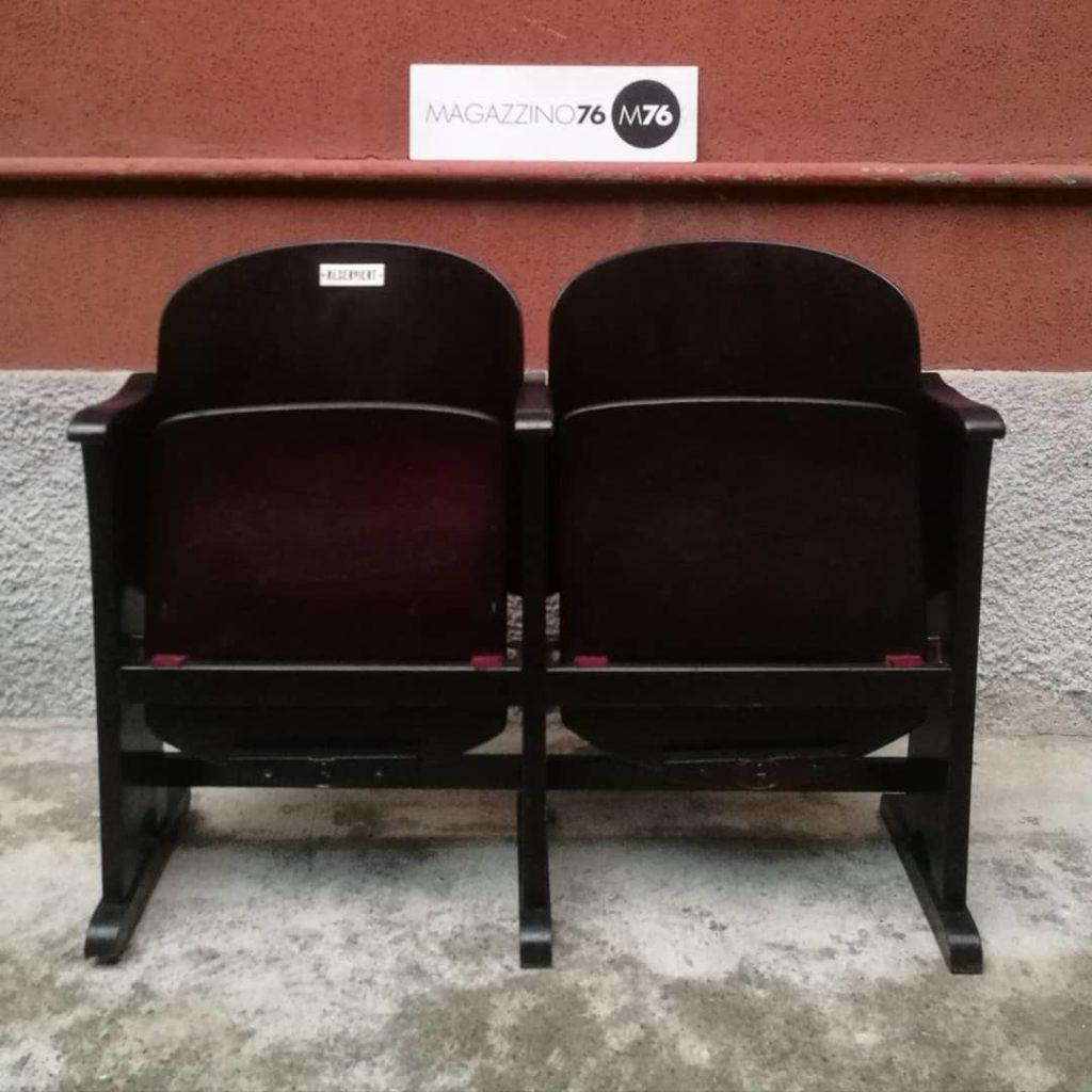 Teatro Le Sedie.Sedie Da Teatro Magazzino76