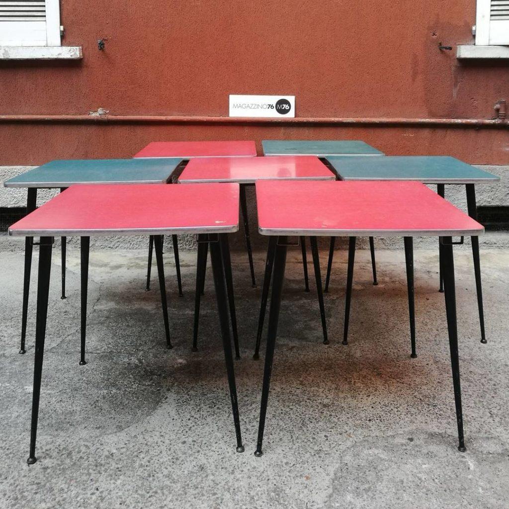 Tavoli da bar in formica — Magazzino76